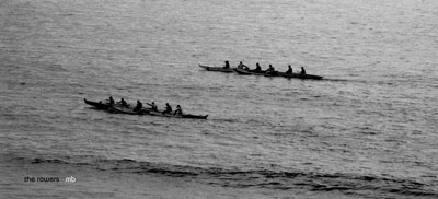 The Rowers photography by Michael Bryant