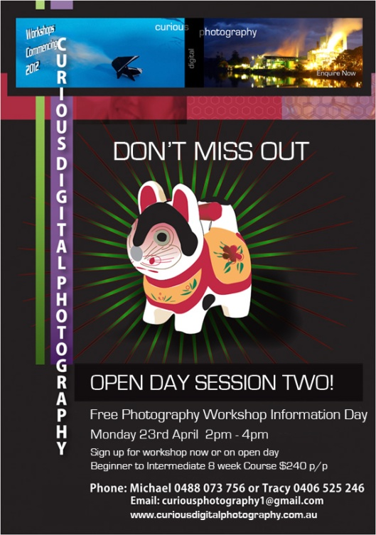 Curious Digital Photography Open Information Day 23/04/12